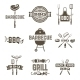 Barbecue and Grill Labels - GraphicRiver Item for Sale