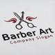 Barber Art Logo - GraphicRiver Item for Sale