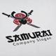 Samurai Logo - GraphicRiver Item for Sale
