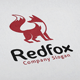 Red Fox Logo - GraphicRiver Item for Sale
