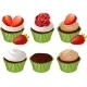 Cupcakes in Green Cup - GraphicRiver Item for Sale