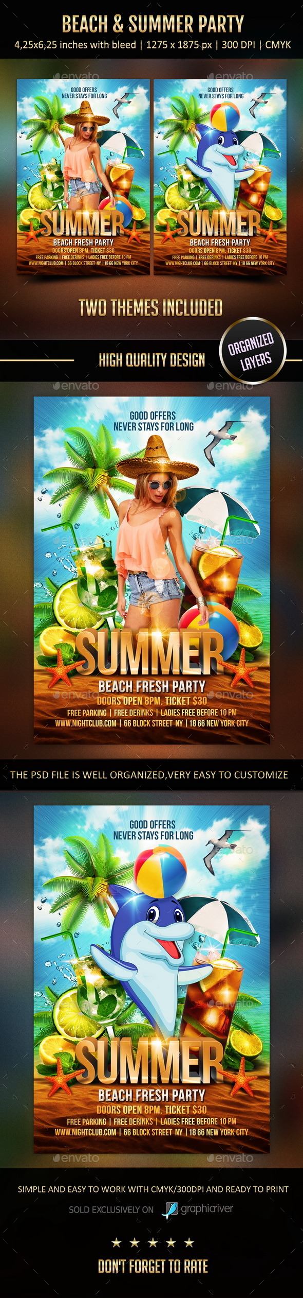 GraphicRiver Beach & Summer Party 11584729