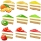 Fruit Cakes Set - GraphicRiver Item for Sale