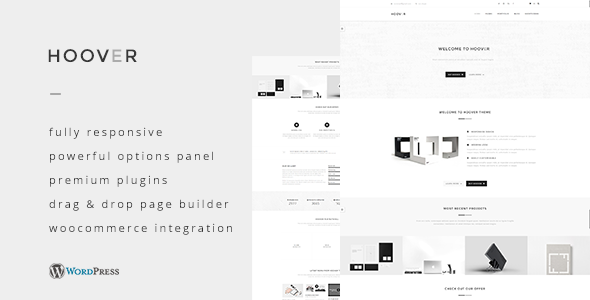 ThemeForest Hoover Multipurpose WordPress Theme 11506355
