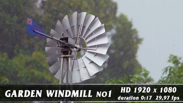 Garden Windmill 1-1