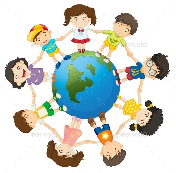 GraphicRiver Kids on the World 11585169