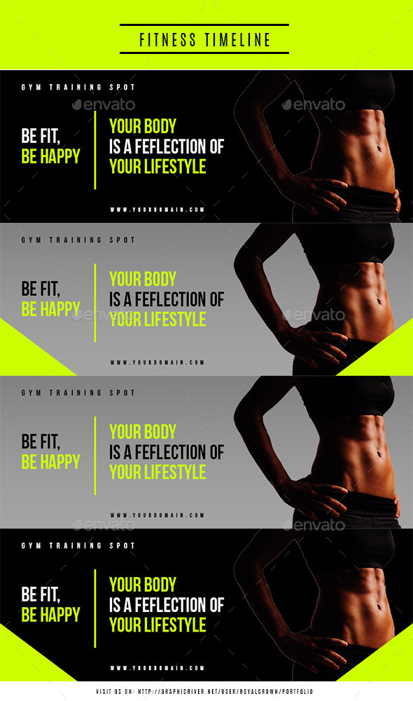 GraphicRiver Fitness FB Timeline 11585198