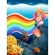 Rainbow and Mermaid - GraphicRiver Item for Sale
