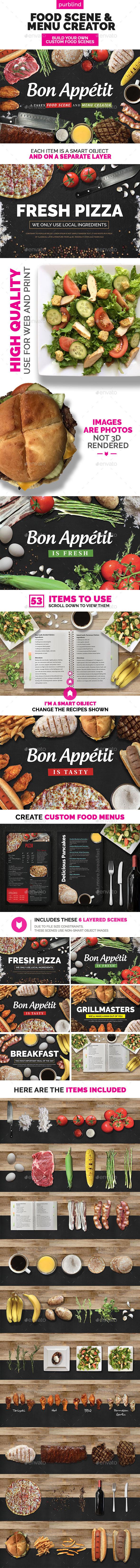GraphicRiver Food Scene Menu Creator Bon Appetit 11585332