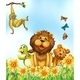 Animals and Flowers - GraphicRiver Item for Sale