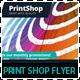 Print Shop Promotions Business Flyer - GraphicRiver Item for Sale