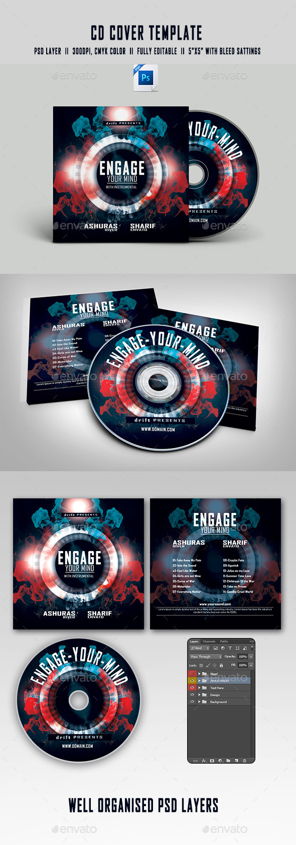 GraphicRiver Instrumental CD Cover 11585348