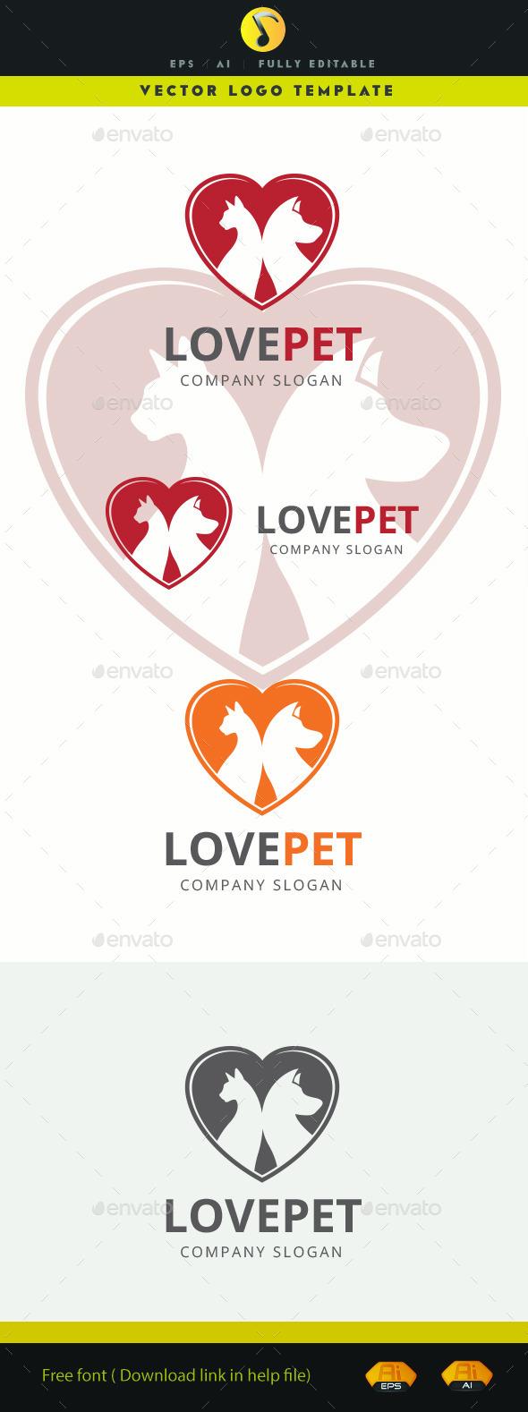 GraphicRiver Love Pet 11585368