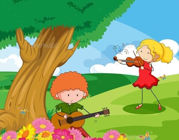 GraphicRiver Musician 11585813