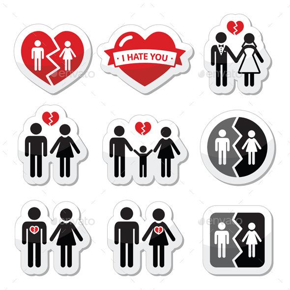 GraphicRiver Couple Breakup 11585943