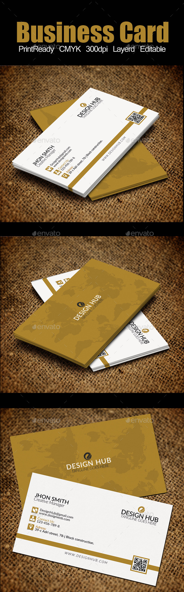 GraphicRiver Business Card 11586325