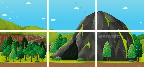 GraphicRiver Mountain 11586460