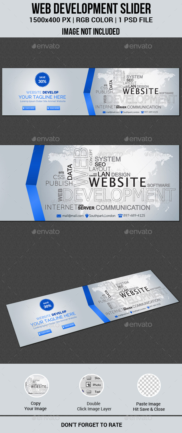 GraphicRiver Web Development Slider 11586506