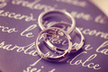 Beautiful engagement and wedding rings