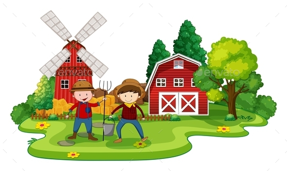 GraphicRiver Farming 11586990
