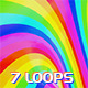 Color VJ Backgrounds - 7 Pack - VideoHive Item for Sale