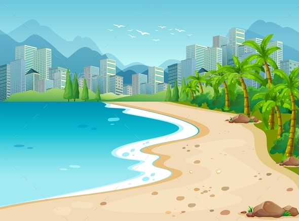 GraphicRiver Ocean View 11587154