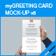 myGreeting Card Mock-up v8 - GraphicRiver Item for Sale