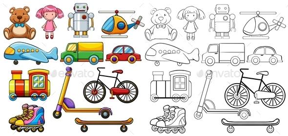 GraphicRiver Classic Toys 11587337