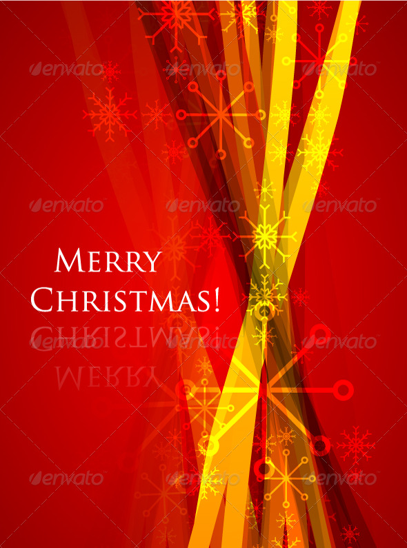 Christmas vector abstract background - New Year Seasons/Holidays