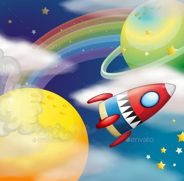 GraphicRiver Rocket 11587422