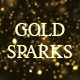 Falling Gold Sparks  - VideoHive Item for Sale