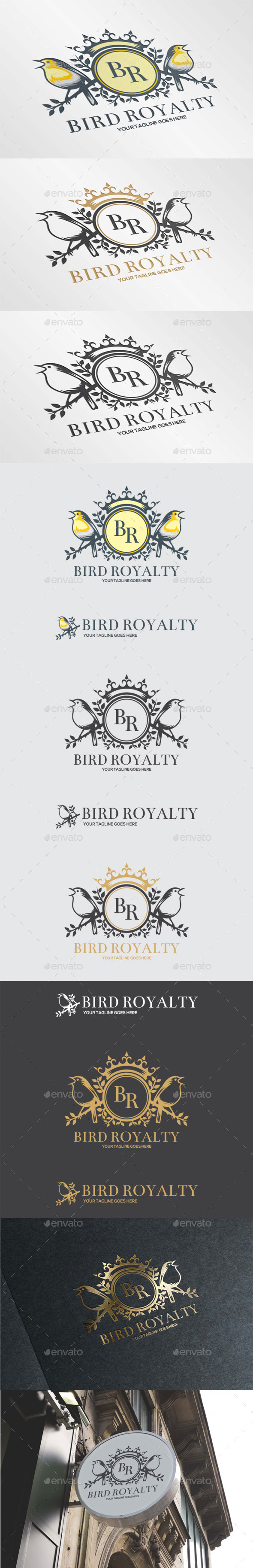 GraphicRiver Bird Royalty 11587798