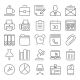 Office And Business Outline Icons - GraphicRiver Item for Sale