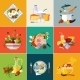 Cooking Restaurant and Vegetarian Food - GraphicRiver Item for Sale
