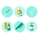 Hygiene Icons Flat Set  - GraphicRiver Item for Sale