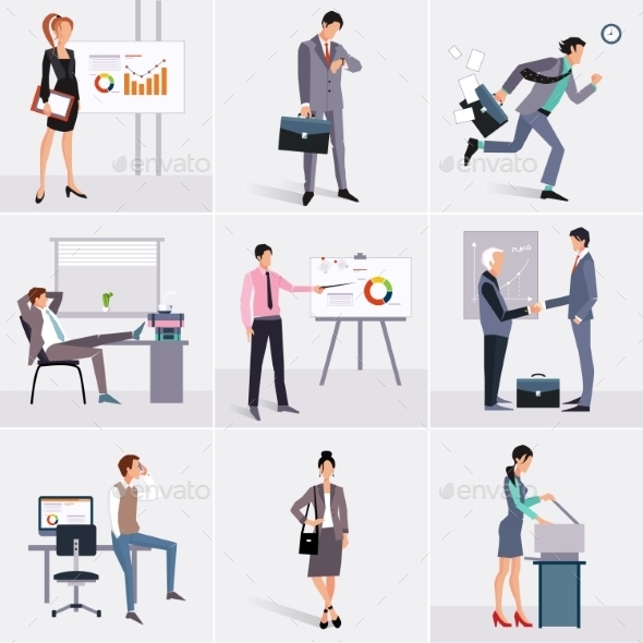 GraphicRiver Business Process Infographics Elements 11588152
