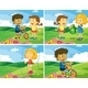 Children and Park - GraphicRiver Item for Sale