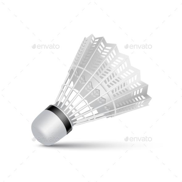 GraphicRiver Badminton Shuttlecock 11588408