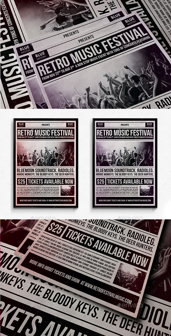 GraphicRiver Music Festival Poster 11588424