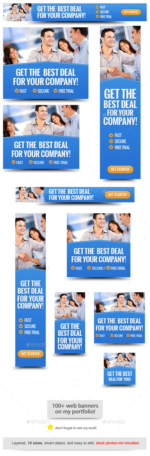 GraphicRiver Corporate Web Banner Design Template 61 11588483