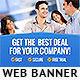 Corporate Web Banner Design Template 61 - GraphicRiver Item for Sale