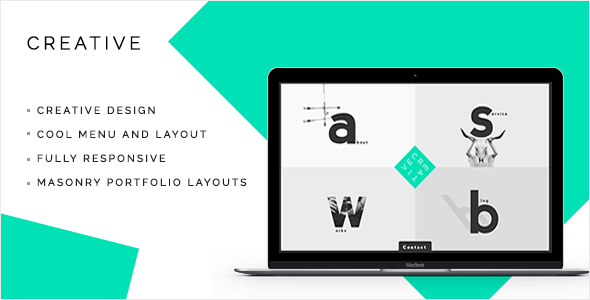 ThemeForest Creative A Creative Portfolio & Agency Site 10821811