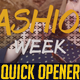 Quick Opener // Fashion Slideshow - VideoHive Item for Sale
