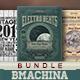 Retro Flyer Bundle - GraphicRiver Item for Sale