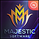 Majestic - Letter M - GraphicRiver Item for Sale
