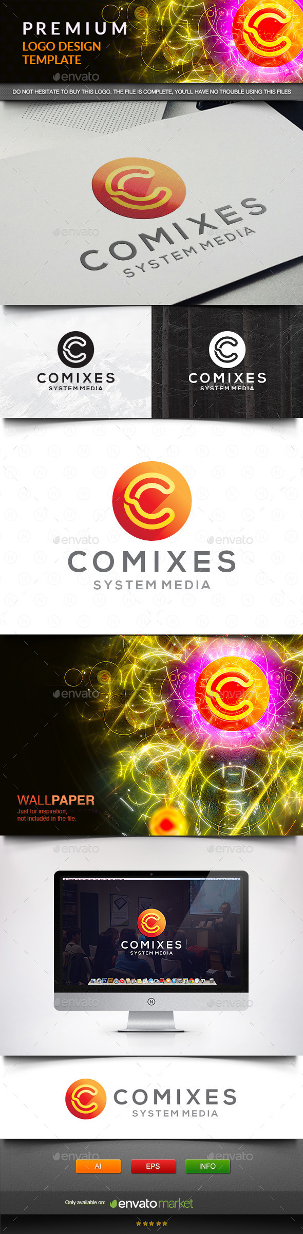 GraphicRiver Comixes Systems 11571643