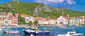 Picturesque Hvar waterfront panoramic view - PhotoDune Item for Sale