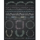 Chalk Seamless Borders Frames and Dividers - GraphicRiver Item for Sale