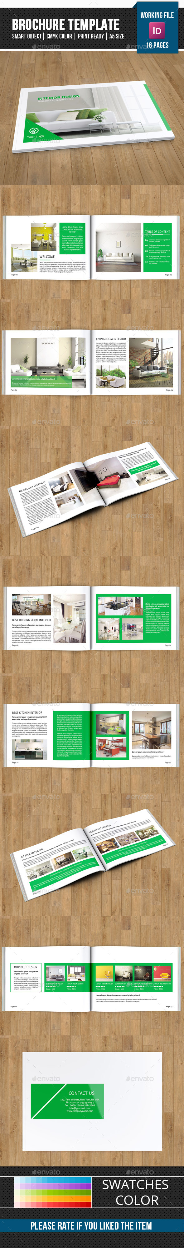 GraphicRiver Interior Design Catalog Brochure-V171 11589535