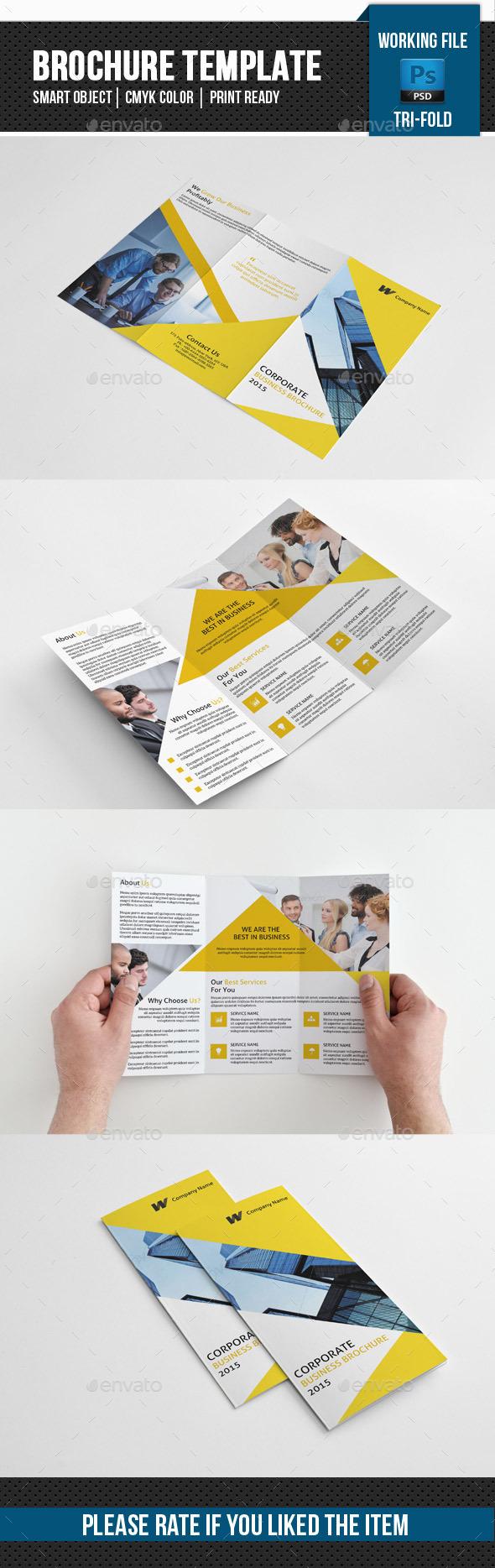 GraphicRiver Corporate Trifold Brochure-V234 11589561